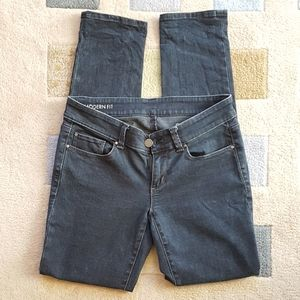 Ann Taylor Skinny Black Jeans -Petite 4